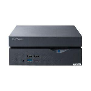 "ASUS VivoMini VC66R Mini PC i3-7100 3.90GHz CPU DDR4 2.5"" HDD/SSD DVI HDMI DP"