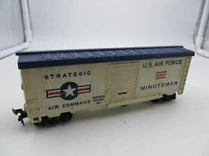 Vintage HO Scale Lionel 0365 U. S. Air Force Minuteman Missile Launching Car