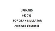 Novell Suse Certified Linux Administrator 12 050-733 Exam Qa Pdf&Simulator