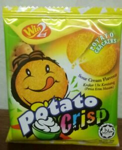 Win Win Potato Crisp (Sour Cream Flavor) - Malaysian Snack