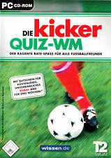 Die Kicker Quiz WM von Take Two für PC (CD in der Box)