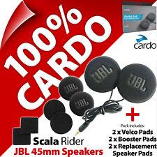 Cardo Scala Rider JBL 45mm Speaker Set PackTalk Bold/Slim Freecom 1 2 3 1+ 2+ 4+