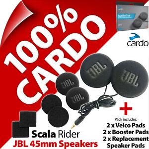 Cardo Scala Rider JBL 45mm Speaker Set PackTalk Bold/Slim Freecom 1 2 4 1+ 2+ 4+