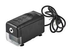 Pencil Sharpener Automatic Electric Desktop Black Heavy Duty With UK Plug