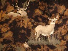 SADDLEBRED Camouflage 100% Cotton Flannel Deer Lounge Pajama Pants Mens 2XL