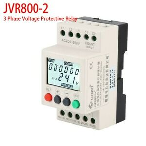 JVR800-2 Under Over-Voltage Protector 3 Phase Voltage Protective-Relay