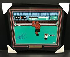 Mike Tyson PUNCH OUT Autographed 16x20 Photo Framed JSA COA Authenitc Signature