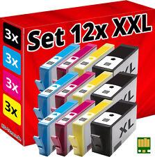 12x CHIP PATRONE für HP-364-XL 5510 5514 5515 5520 5522 5524 6510 6520 7510 7520