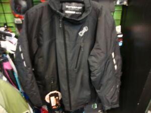 New Motorfist Redline Snow Jacket - Black - 2X-Large - # 20592-1022