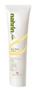Tea Tree Cream - 100ml - NAHRIN/JUSTRICH (Brilliant Antiseptic, contains Manuca)