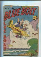 BLUE BOLT  Dick Cole 1940-49 #1 Vol 5 Golden age COMIC