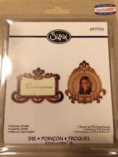 NEW! Retired Sizzix Embosslits XL Die- Frames, Ornate #657756