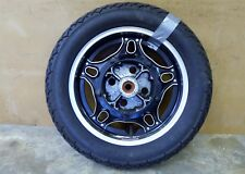1981 Honda CB650SC Nighthawk H1510. rear wheel rim 16in comstar