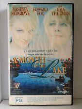 A MONTH BY THE LAKE ~ VANESSA REDGRAVE, UMA THURMAN & EDWARD FOX~ RARE VHS VIDEO
