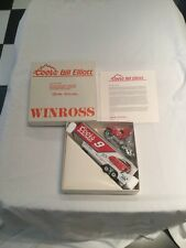 BILL ELLIOTT #9 COORS RACING WINROSS  FORD TRANSPORTER