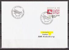 Suiza 60 años pro Aero 1998 Special lausana Bern 1000 lausana 5245 Habsburg