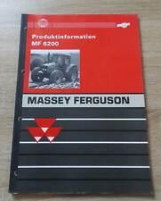 Massey Ferguson Traktoren MF6200 - Reihe Produktleitfaden
