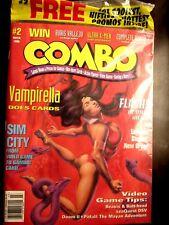 COMBO Magazine #2 (Mar 1995) Sealed! Sim City CCG Card Insert + Trading Cards