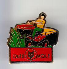 RARE PINS PIN'S .. AGRICULTURE TRACTEUR TRACTOR MOTOCULTURE TONDEUSE WOLF ~BH
