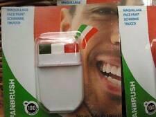 Fanbrush Mexico Flag Face paint - Pintura para Cara Bandera de México