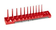 Hansen Global #1401: 1/4in Drive SAE Socket Organizer.
