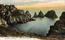 Guernsey. Jerbourg Point - La Pointe de Jerbourg # 151 by LL / Levy. Coloured.