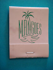 Matches Matchbook ~*~ Mangoes Restaurant & Catering ~*~ Key West, Florida