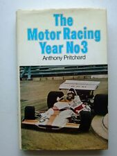 MOTOR RACING YEAR No 3, PRITCHARD, 1972 NEW HARDBOUND BOOK / Best Offer?