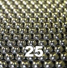 """25 1/8"""" Inch G25 Precision 420 Stainless Steel Bearing Balls"""