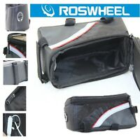"Free Ship Cycling Bike Bicycle Frame Front Tube Bag Pannier for 4.8"" Cell Phone"