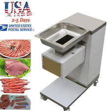 Usa Commercial Meat Slicer Cut Machine Cutter Stainless 500kg/Hour Restaurant Ce