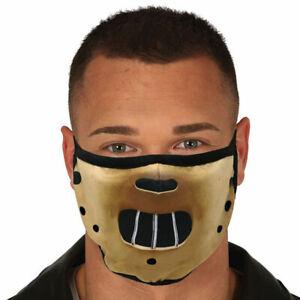 Maschera Halloween Silence of the Lambs Hannibal Lecter mask