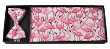 Flamingo Fun Cummerbund and Bow Tie