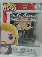 """The """"Million Dollar Man"""" WWE Funko Pop Signed by Ted Dibiase"""