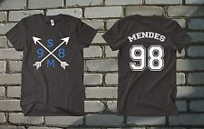 Shawn Mendes shirt SM96 T-Shirt Black White Shirt Men Women tee MAGCON BOYS