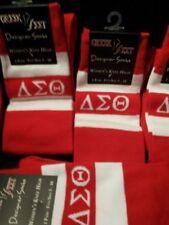 Delta Sigma Theta Knee High Socks
