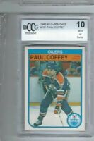 1982-83 O-Pee-Chee #101 PAUL COFFEY Edmonton Oilers BCCG 10