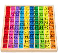Lernspielzeug Montessori 1x1 Einmaleins Holzwürfel Holzspielzeug - SG06
