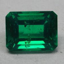 Fine!12.60ct Stunning Doublet Coloumbian Green Emerald Octagon Cute Cut Gem~