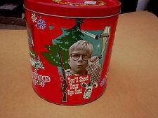 2009 A CHRISTMAS STORY MOVIE TIN *Empty,peter billingsley,ralphie,ian petrella