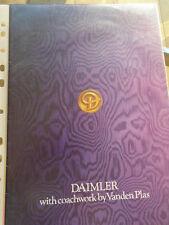 Daimler Vanden Plas range brochure Feb 1978 4.2, Double Six