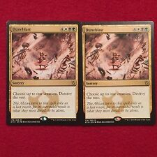 MTG X2 Duneblast Khans of Tarkir Magic the Gathering White Black Green Rare Card