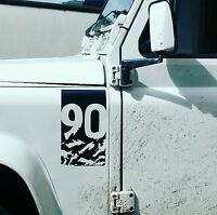Land Rover Defender Adventure Edition decal sticker (90) landrover Tuff rok