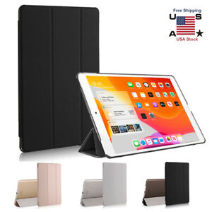 """iPad 10.2"""" Smart Case For 2019 Apple 7th Generation Slim Translucent Stand Cover"""