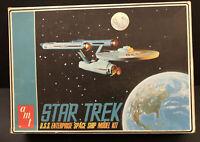 Vintage 1968 AMT S951 250 STAR TREK USS ENTERPRISE Model Kit, Boxed, Unbuilt