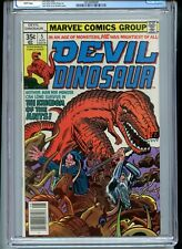 Devil Dinosaur #5 CGC 9.8 White Pages Kirby