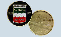 USS SOMERS DD-947 GUIDED MISSILE DESTROYER NAVY CHALLENGE COIN