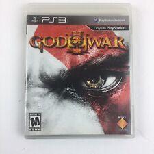 Used PS3 God of War III