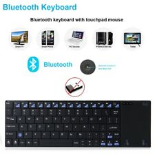 Rii Wireless Bluetooth Keyboard And Mouse TouchPad For PC Android TV Box Tablet