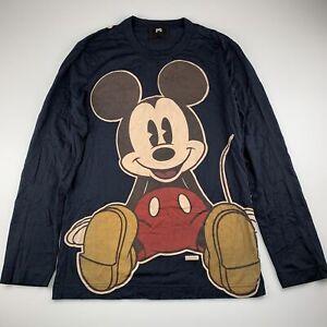 Womens 14-16, Dolce & Gabbana, Mickey / Minnie Mouse cotton long sleeve top, EUC